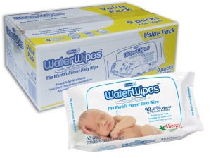 WaterWipes 9 packs of 60 wipes